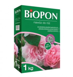 Biopon nawóz do róż 1kg 24.15.80-25.20