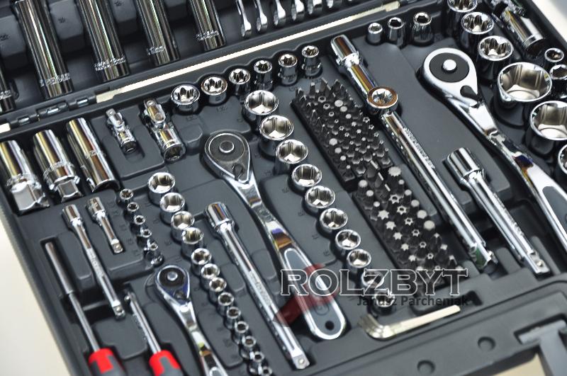 0d0aff132a6e5 Proline Zestaw kluczy nasadowych 217 elementów Przedsiębiorstwo ...